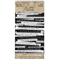 Tim Holtz - Idea-Ology - Spiral Bound Sticker Book 4.5