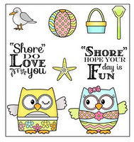 Darcie's Clear Polymer Stamp Set - Shore Love You - DHD248