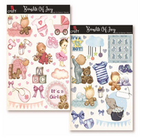 ICraft Add On Element Sheet - Bundle of Joy