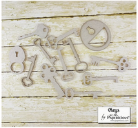 Keys - Chipboards 6