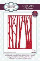 Creative Expressions - Woodland Collection - Birch Tree Forrest - CED3096
