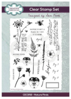 Creative Expressions - Sam Poole Nature Finds A5 Clear Stamp Set