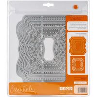 Tonic Studios Essentials Memory Book Maker Die Set - Layered Cascade