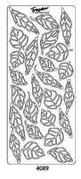 Starform Peel Off Sticker - Leaves - 4039