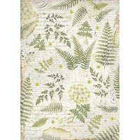 Stamperia - Rice Paper - Leaves - A3 size