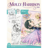 Crafter's Companion - Molly Harrison -  Photopolymere Stamp - Lily of Love