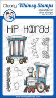Whimsy - Clear Stamp Set - Linking Train - BS1020