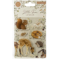 Craft Consortium - A5 Clear Stamps - Little Fawn & Friends - Little Fawn