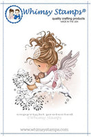 Whimsy - Cling Rubber Stamp - Lullaby - SZWS171