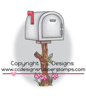 Mailbox - SW1139 -Rubber Stamp
