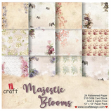ICraft Paper Collection - Majestic Blooms