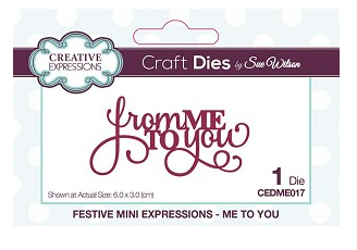 Mini Expressions Collection Me To You - CEDME017