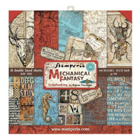 Stamperia - Mechanical Fantasy - Double-Sided Paper Pad 12