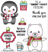 Darcie's - Clear Stamp Set - North Pole Pals POL480