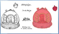 Heartfelt Creations - Oakberry Cottage - Stamp and Die Set