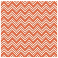 Dancette - Orange Chevron Glitter Cardstock 12