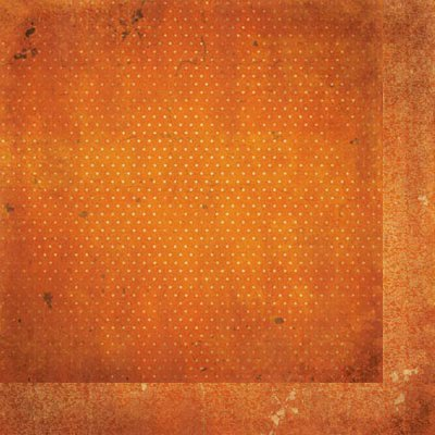 "BoBunny Double Dot - Burnt Orange Vintage - 12""x12"" Cardstock"
