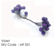 ICraft Frosted Berry Pollens - Frosted Violet