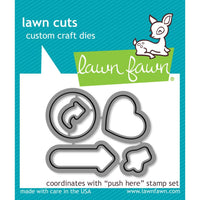 Lawn Fawn Push Here Metal Die