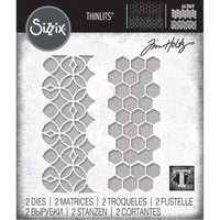 Sizzix - Thinlits Dies By Tim Holtz - Pattern Repeat