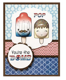 Darcie's Clear Polymer Stamp Set - The Bomb - POL389