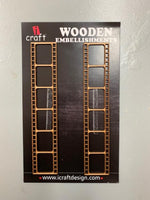 ICraft Wooden Embellishments - Filmstrip