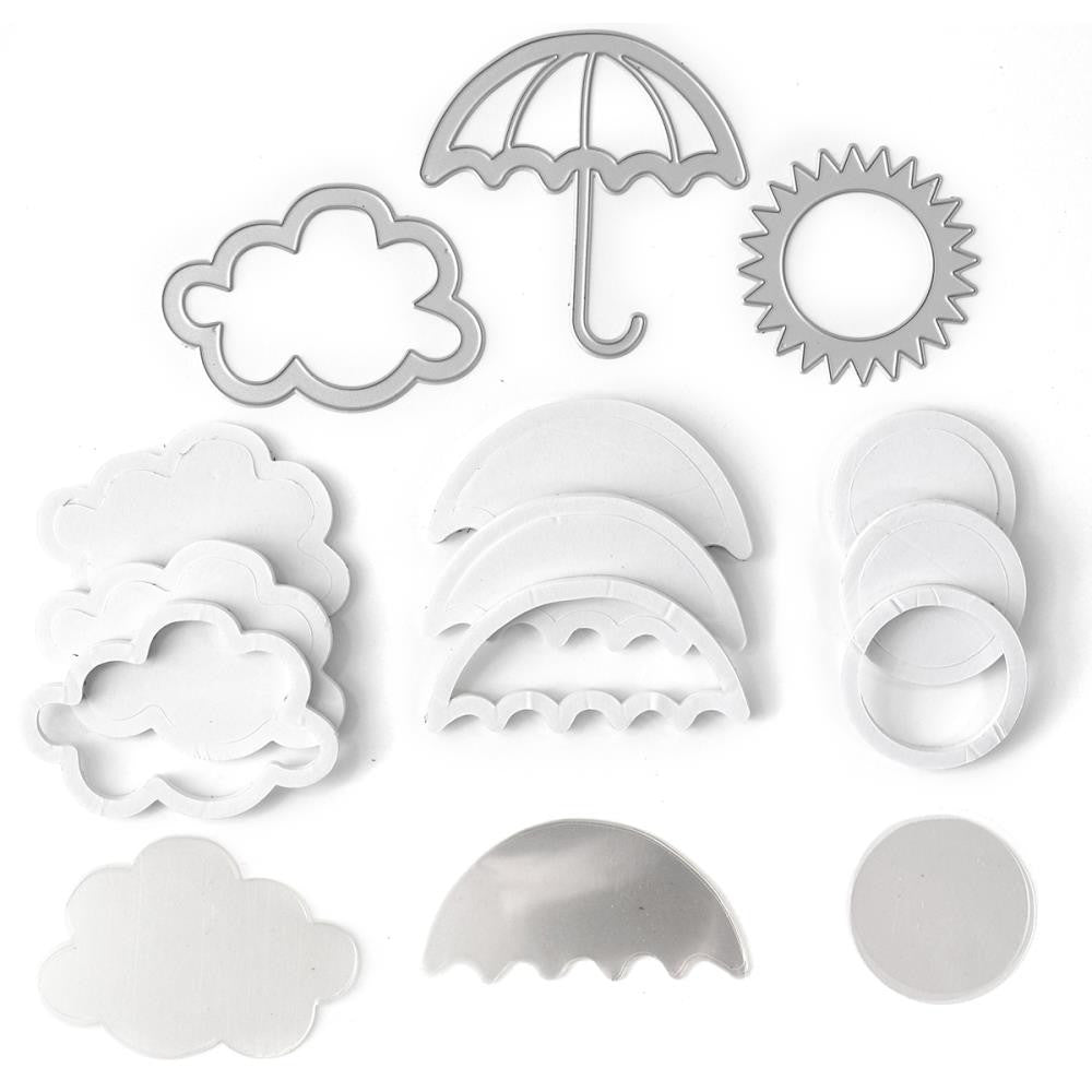 Queen&Co-Spring Shaped Shaker Kit