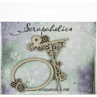 Scrapaholics - Steampunk Hanging Sign Chipboard