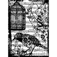 Tim Holtz - Cling Stamp 2.5