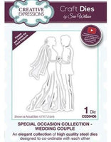 Creative Expressions - Wedding Couple Die - CED9406