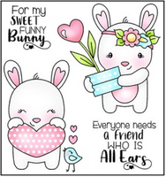 Tin Pin - Funny Bunny POL384 - Clearstamp