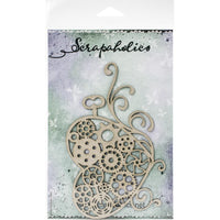Scrapaholics - Steampunk Heart Chipboard