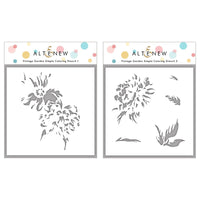 Altenew - Simple Coloring Stencil Set - Vintage Garden