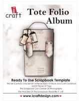 I-Craft Tote Folio Album