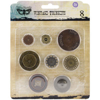 Finnabair - Vintage Mechanical Metal Trinkets - Washers #1