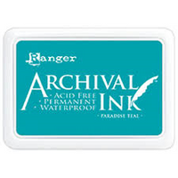 Ranger Mini Archival Ink Pads  - Paradise Teal