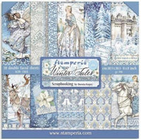 Stamperia - 8x8 Paper Collection - Winter Tales