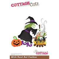 CottageCutz - Dies - Witch Hazel & Cauldron