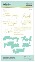 Spellbinders Glimmer Hot Foil - Yana's Special Sentiments