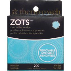 Zots Clear Adhesive Dots removeable