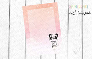 Barry Hot Air Balloon Notepad (NP001)