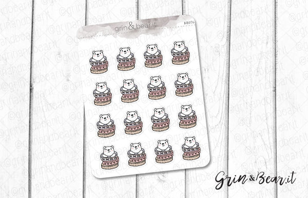 Washi Stack Barry! - Barry the Bear Stickers (BB076)