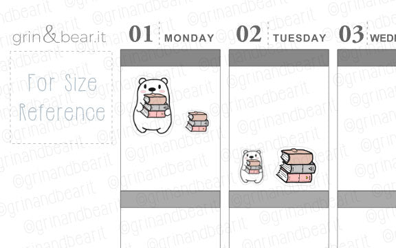 Planner Stack Barry! - Barry the Bear Stickers (BB102)
