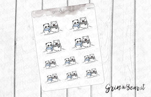Build a Snowbear Barry! - Barry the Bear Stickers (BB112)
