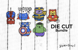 Barry Avengers Bundle - Barry the Bear Diecut