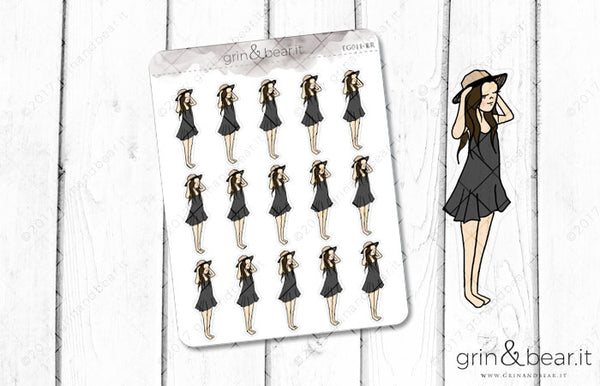 Summer Vibes - Everyday Girl Stickers (EG011)