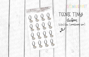 Paper Clip Doodle! - Tiny Tuesday Stickers (TT004)