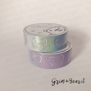 Washi - Barry Heart Rainbow Ombre (WSH003)