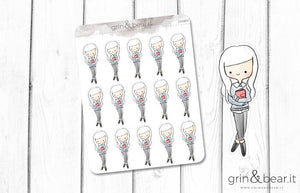 Planner Girl! Doodle Stickers (DS005)