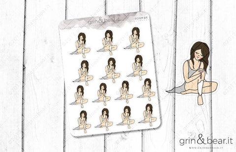 Boo Shaving - Everyday Girl Stickers (EG009)